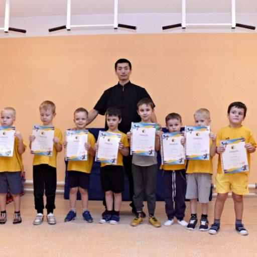 Вручение грамот в детских группах на Долгоозерной, 12