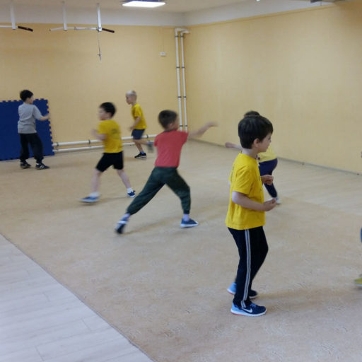 Кунг фу для детей
